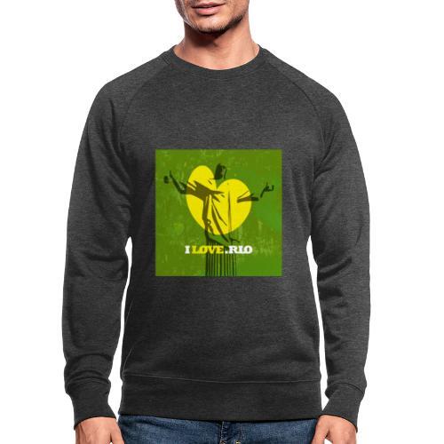ILOVE.RIO MATA ATLANTICA - Men's Organic Sweatshirt