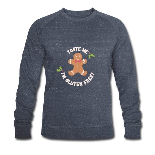 Taste me Christmas - Männer Bio-Sweatshirt