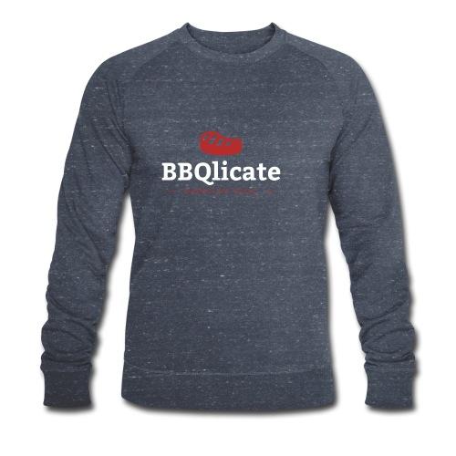 BBQlicate Logo - Männer Bio-Sweatshirt von Stanley & Stella