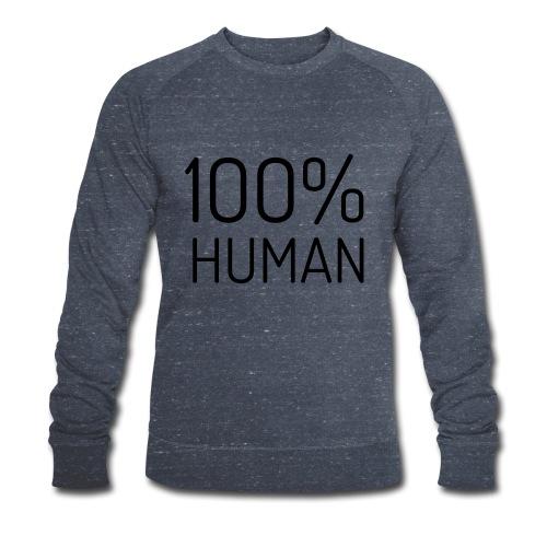 100% Human - Mannen bio sweatshirt van Stanley & Stella