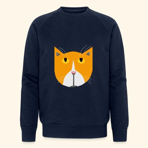 Hieno kissa - Miesten luomucollegepaita