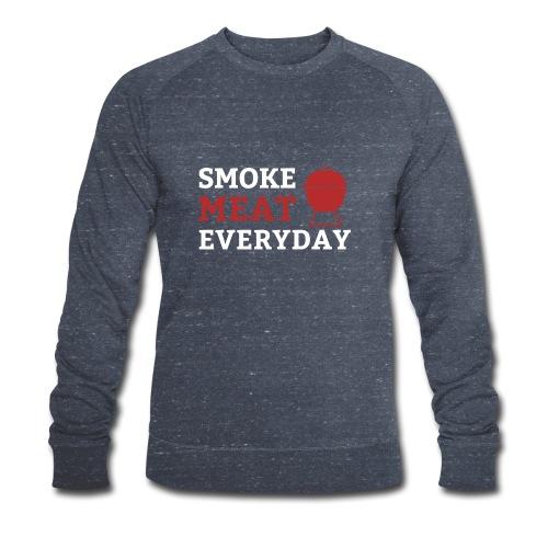 smoke meat everyday shirt - Männer Bio-Sweatshirt von Stanley & Stella