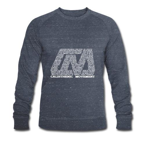 CM Logo aus Text weiß - Männer Bio-Sweatshirt von Stanley & Stella