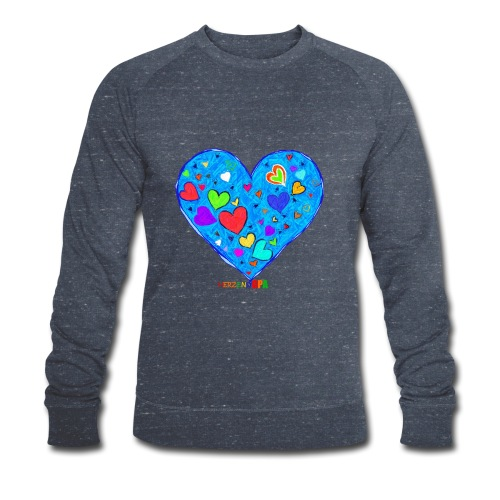 HerzensOpa - Männer Bio-Sweatshirt