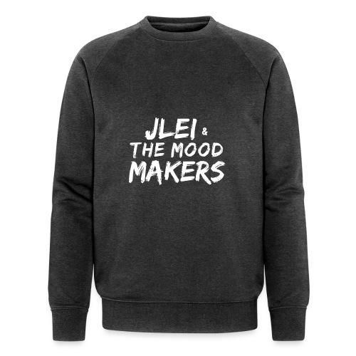Jlei & The Mood Makers Schriftzug Weiss - Männer Bio-Sweatshirt von Stanley & Stella