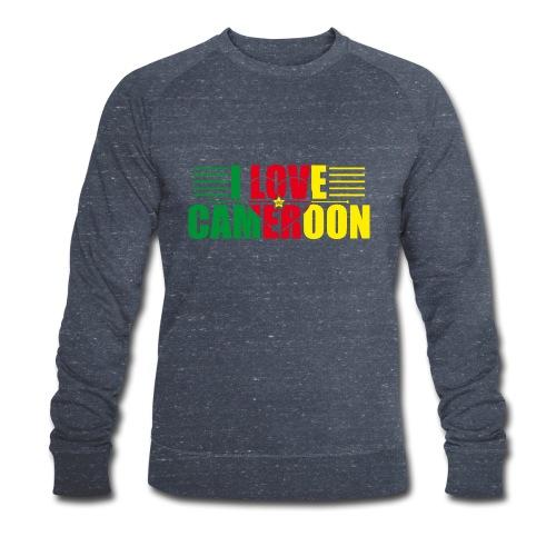 love cameroun - Sweat-shirt bio Stanley & Stella Homme