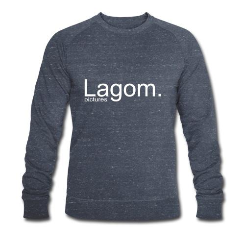 Lagom Pictures Logo Light - Men's Organic Sweatshirt