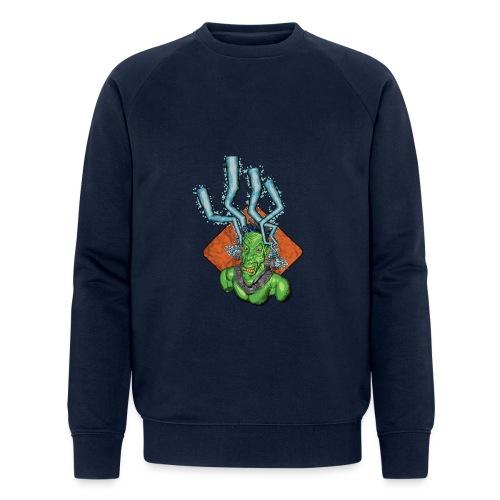 Frankie the monster - Men's Organic Sweatshirt by Stanley & Stella