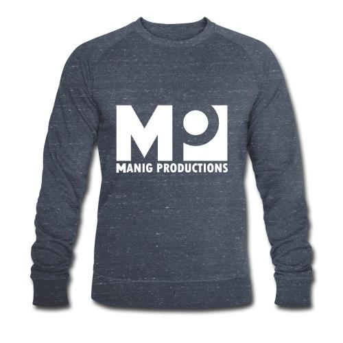 ManigProductions White Transparent png - Men's Organic Sweatshirt by Stanley & Stella