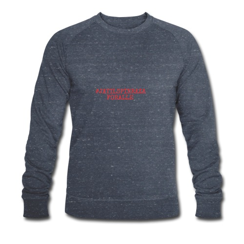 #jatilspinrazaforalle - rød - Økologisk sweatshirt for menn fra Stanley & Stella