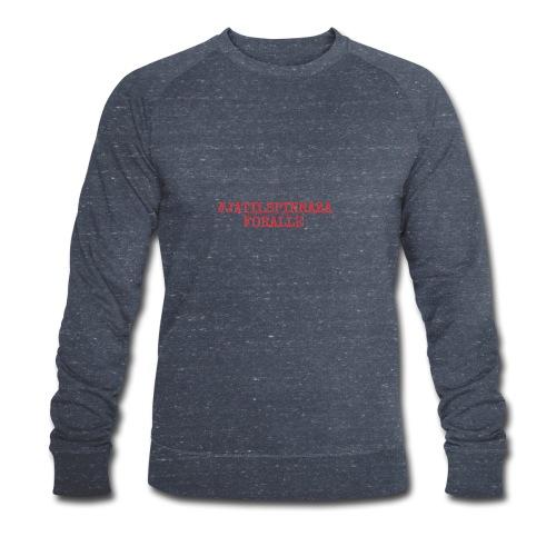 #jatilspinrazaforalle - rød - Økologisk sweatshirt for menn