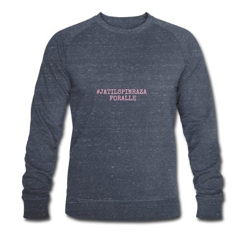 #jatilspinraza - rosa - Økologisk sweatshirt for menn