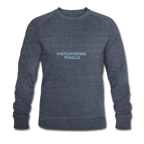 #jatilspinrazaforalle - lysblå - Økologisk sweatshirt for menn fra Stanley & Stella