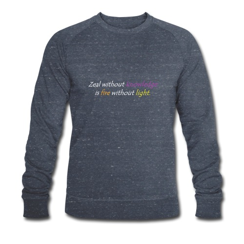 Say with colors - Men's Organic Sweatshirt by Stanley & Stella