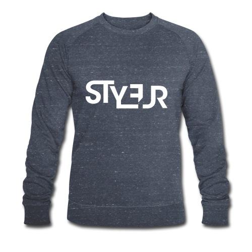 styleur logo spreadhsirt - Männer Bio-Sweatshirt von Stanley & Stella