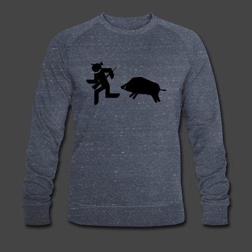 """""""Jäger vs Keiler""""-Shirt für Jäger - ein Klassiker! - Männer Bio-Sweatshirt von Stanley & Stella"""