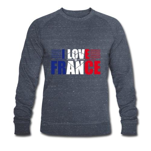 love france - Sweat-shirt bio Stanley & Stella Homme