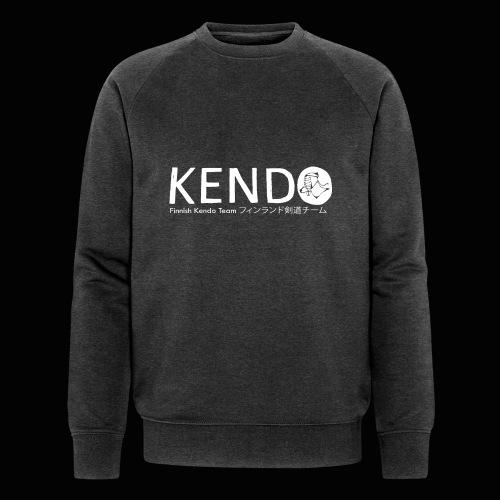 Finnish Kendo Team Text - Stanley & Stellan miesten luomucollegepaita