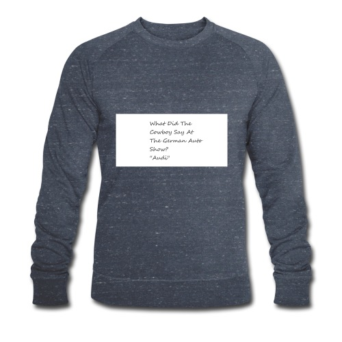 Car Joke - Men's Organic Sweatshirt by Stanley & Stella