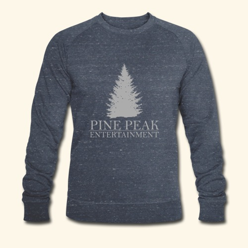 Pine Peak Entertainment Grey - Mannen bio sweatshirt van Stanley & Stella