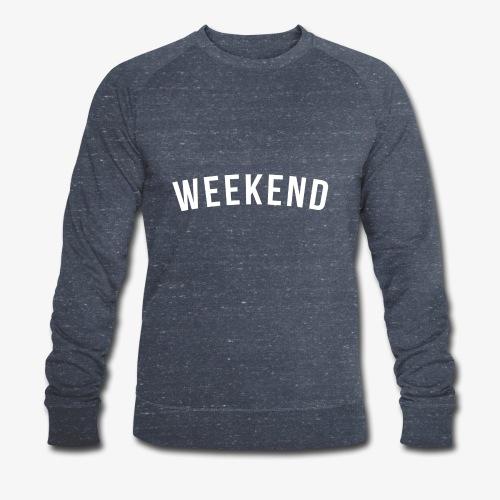 WEEKEND WHITE - Men's Organic Sweatshirt by Stanley & Stella