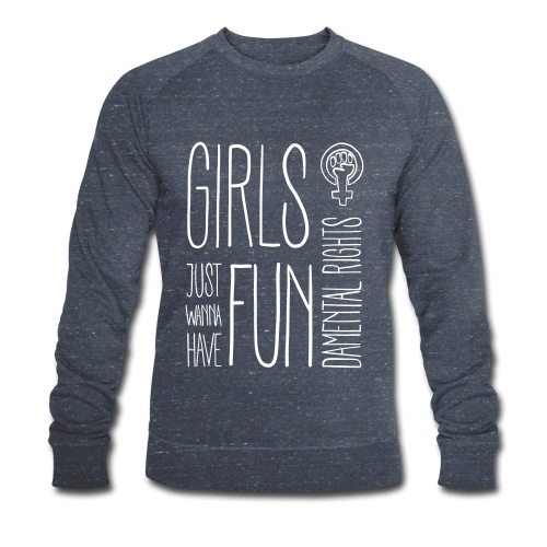 Girls just wanna have fundamental rights - Männer Bio-Sweatshirt von Stanley & Stella