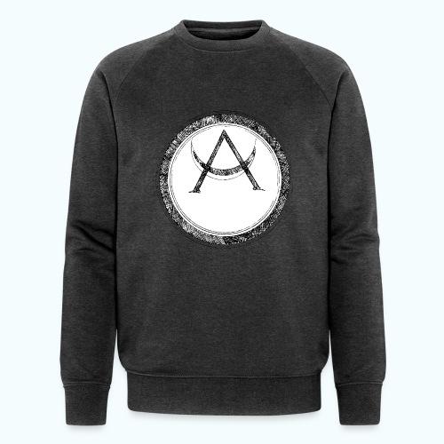 Mystic motif with sun and circle geometric - Men's Organic Sweatshirt by Stanley & Stella