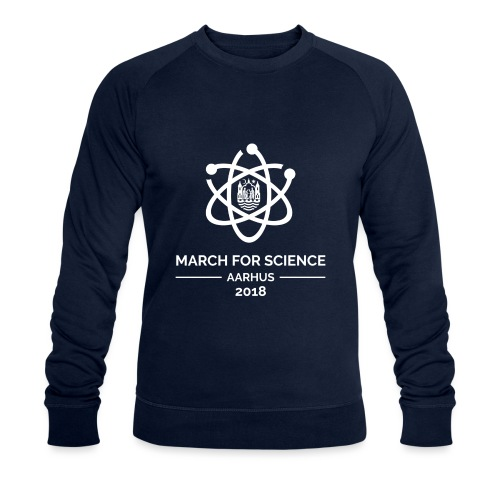 March for Science Aarhus 2018 - Men's Organic Sweatshirt by Stanley & Stella