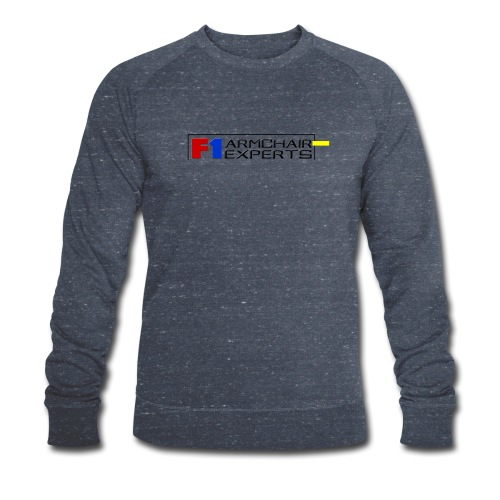 F1 Armchair Experts Logo BK - Men's Organic Sweatshirt by Stanley & Stella