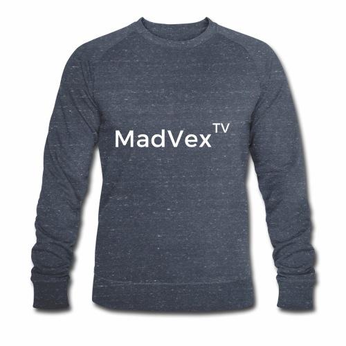 MadVexTV Schriftzug - Männer Bio-Sweatshirt von Stanley & Stella