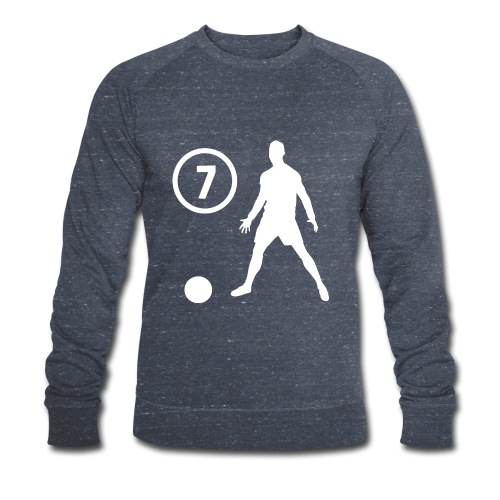 Goal soccer 7 - Mannen bio sweatshirt van Stanley & Stella
