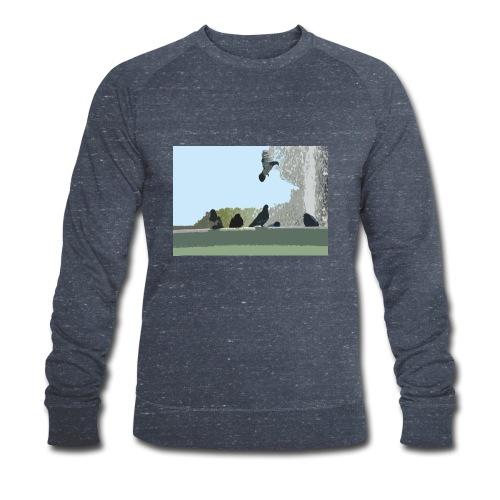 Chillin' pigeons - Mannen bio sweatshirt