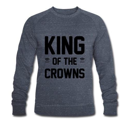 King of the crowns - Mannen bio sweatshirt van Stanley & Stella
