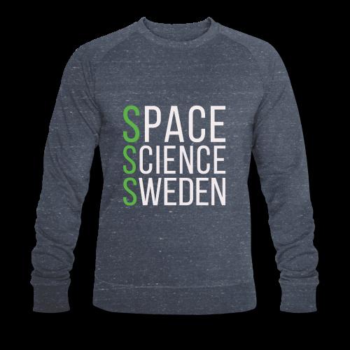 Space Science Sweden - vit - Ekologisk sweatshirt herr från Stanley & Stella
