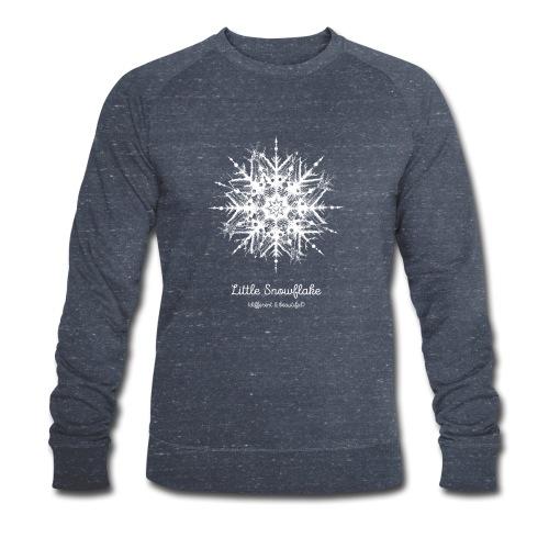 Schneeflocke Weihnachten Liebe Geschenk Kinder - Männer Bio-Sweatshirt von Stanley & Stella