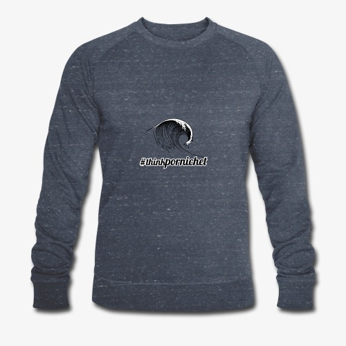Vague Wave Thinkpornichet by DesignTouch - Sweat-shirt bio Stanley & Stella Homme
