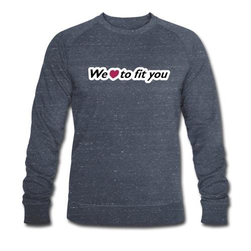 Claim Kontrast - Männer Bio-Sweatshirt von Stanley & Stella