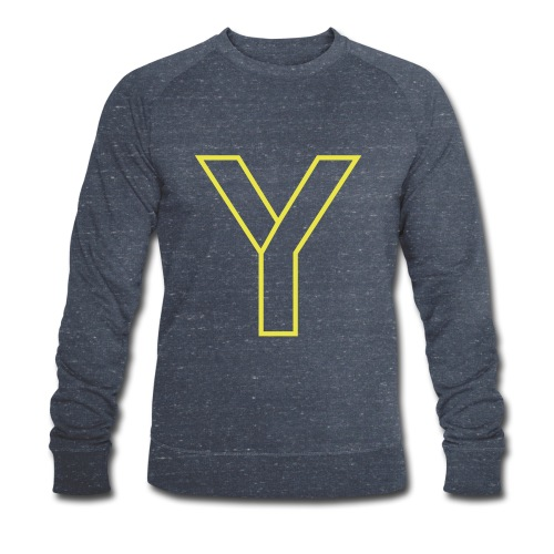 ChangeMy.Company Y Yellow - Männer Bio-Sweatshirt