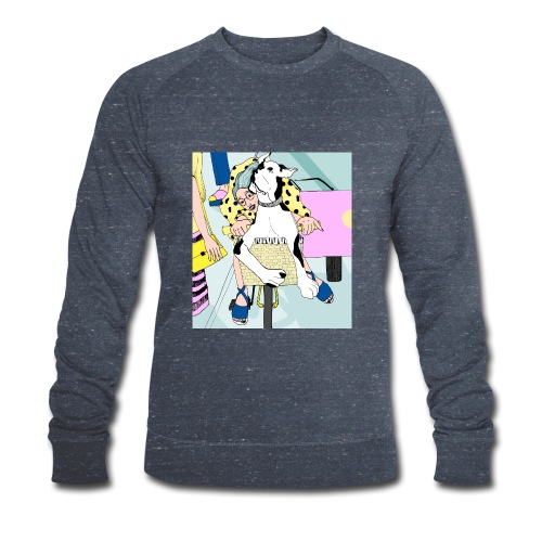 Beauty by bicycle - Men's Organic Sweatshirt by Stanley & Stella