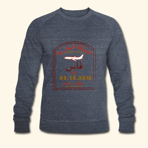 aéroport fes saiss - Sweat-shirt bio Stanley & Stella Homme