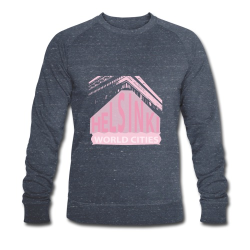 Helsinki light pink - Men's Organic Sweatshirt by Stanley & Stella