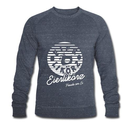 Herz Ei_final_back_x11_ne - Männer Bio-Sweatshirt von Stanley & Stella
