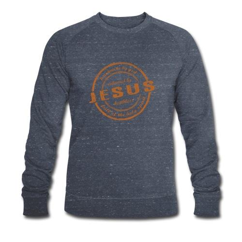 Redeemed by Jesus - Männer Bio-Sweatshirt