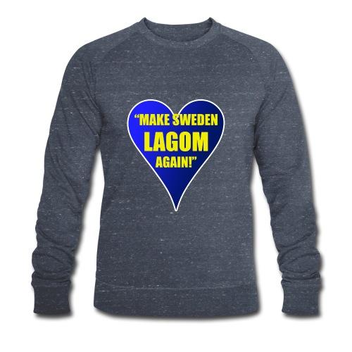 Make Sweden Lagom Again - Ekologisk sweatshirt herr från Stanley & Stella