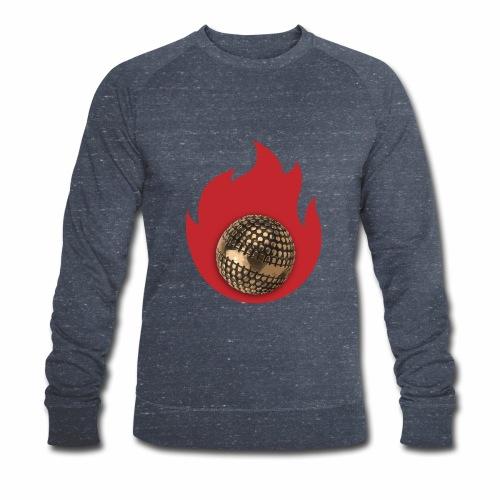 petanque fire - Sweat-shirt bio Stanley & Stella Homme