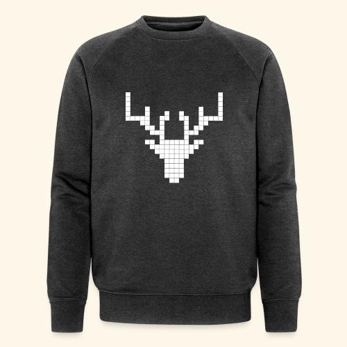PIXELHIRSCH - only - Männer Bio-Sweatshirt