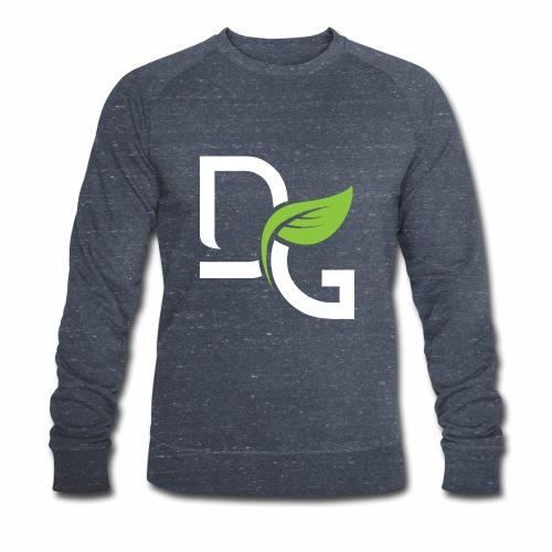 DrGreen Logo Symbol weiss grün - Männer Bio-Sweatshirt von Stanley & Stella