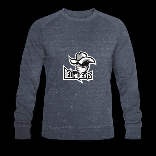 Delinquents TriColor - Økologisk sweatshirt til herrer