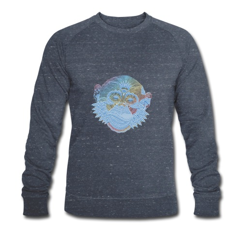 affe - Männer Bio-Sweatshirt