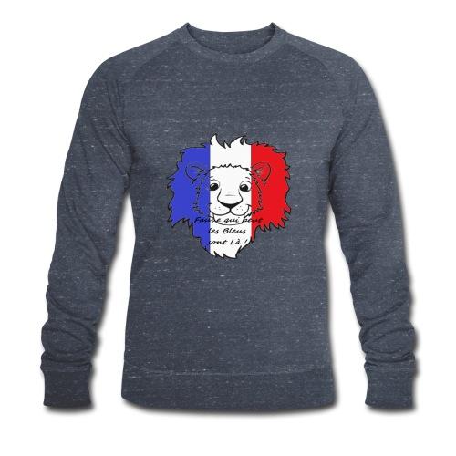 Lion supporter France - Sweat-shirt bio Stanley & Stella Homme